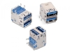 692141030100 USB-коннекторы WR-COM 3.0 Type A 18Pin Stacked Female